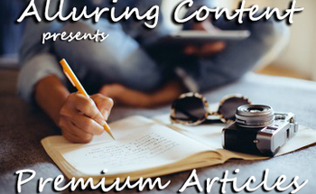 Small alluring content banner