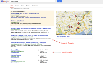 Small local seo results  1