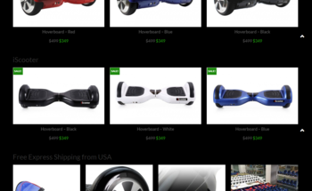 Small hoverboards