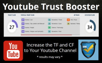 Small youtube trust booster