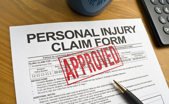 Small personal injury claim form