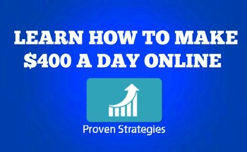 Small show you how to make 400d a day online