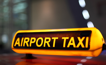 Small airport taxi embeds backlinks