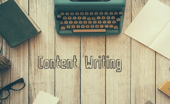 Small content writing cover