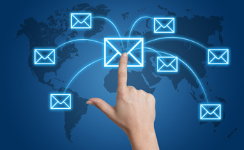 Small email services embeds backlinks