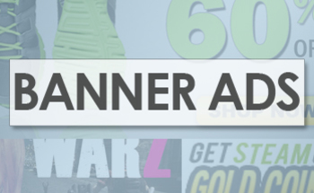 Small banner ads box
