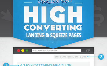 Small landing and squeeze pages obrien seo