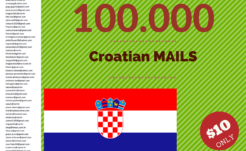 Small 50.000 croatian email