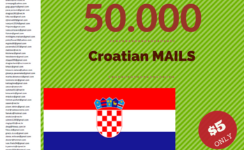 Small 50.000 croatian email 4