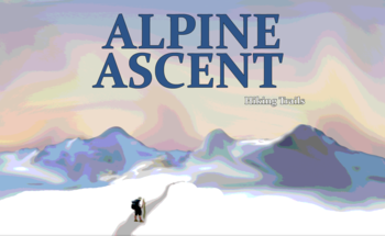 Small alpine ascent