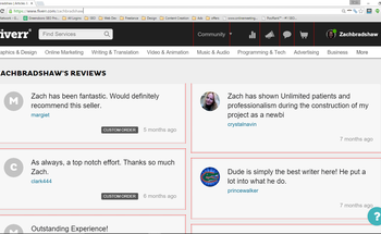 Small fiverr reviews 1