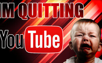 Small im quitting youtube thumbnail