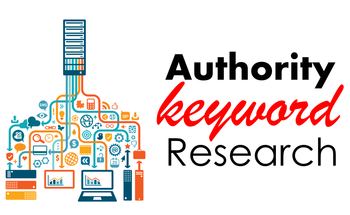 Small authority keyword research graphic