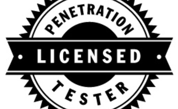 Small licensed pen tester logo