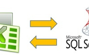 Small two way connection between excel and sqlx