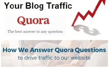 Small why use quora as seo factor to drive traffic for blogger
