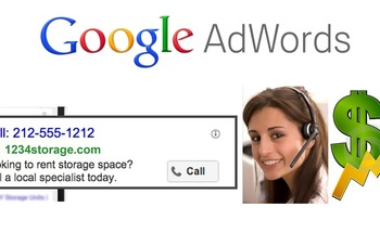 Small setup google adwords call campaign