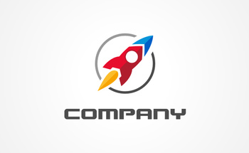 Small small rocket logo