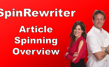 Small article spinner spinrewriter review article spinning overview
