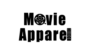 Small movie aparell logo v1 white