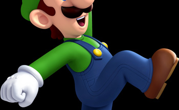 Small luigi background