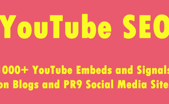 Small youtube seo 1000  youtube embeds and signals on blogs and pr9 social media sites