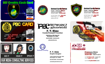 Small business cards show 1
