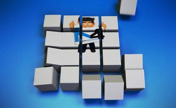 Small cube assembly