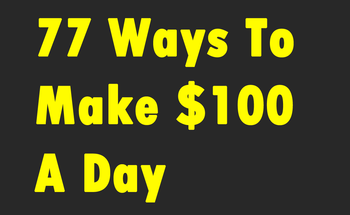 Small 77 ways to make  100 day