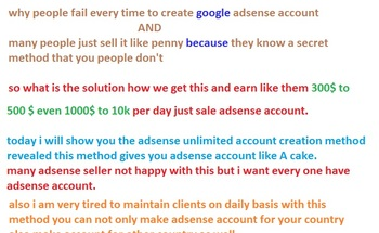 Small adsense details pic