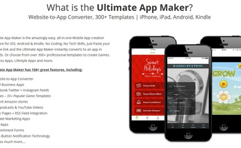 Small what is ultimate app maker