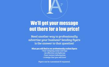 Small flyer ad  1
