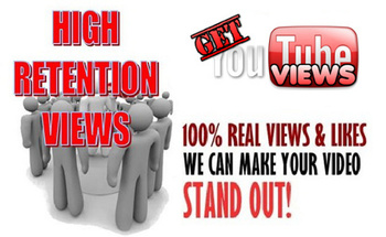 Small get high retention youtube views front