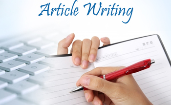 Small how to write an article