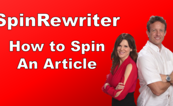 Small article spinner spinrewriter review how to spin an article