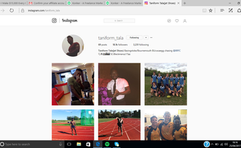Small instagram page