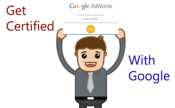 Small get certified with google