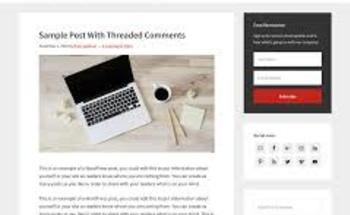 Small wordpress genesis frame theme