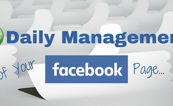 Small daily management of your fb page bl