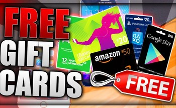Small free gift cards