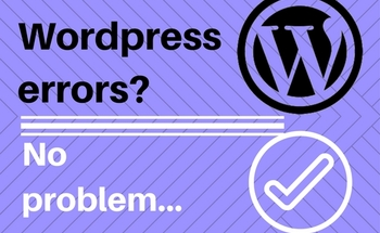 Small wordpress errors