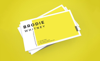 Small business card design 1