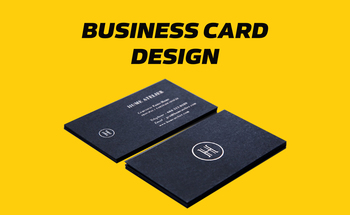Small business card design