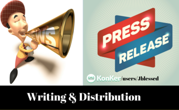 Small press release write distribution