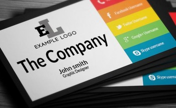 Small business card 718x300