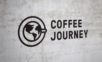 Small logo design coffee journey