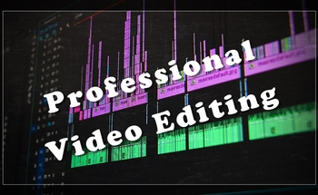 Small stages of corporate video editing fotor