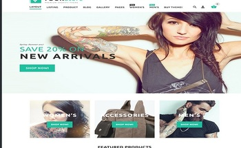 Small roundup website template your