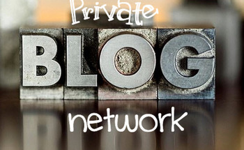 Small private blog network