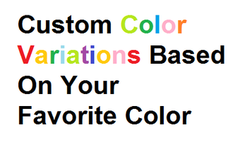 Small custom color variations
